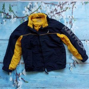 Nautica Boy Size 5/6 Navy Blue Light Jacket